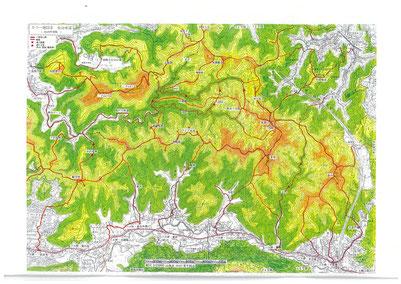葉山の山歩きコース2021年度版完成!